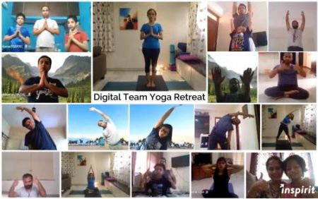 Digital Yoga – A Stride towards Corporate Wellness